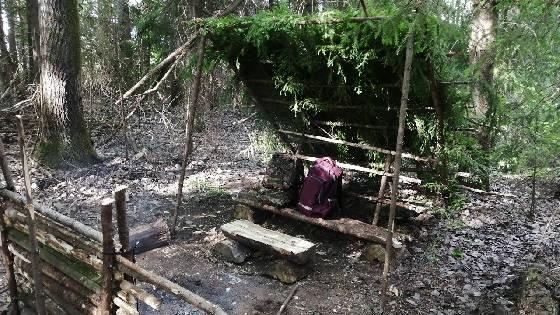 Обустройство БУШКРАФТ лагеря