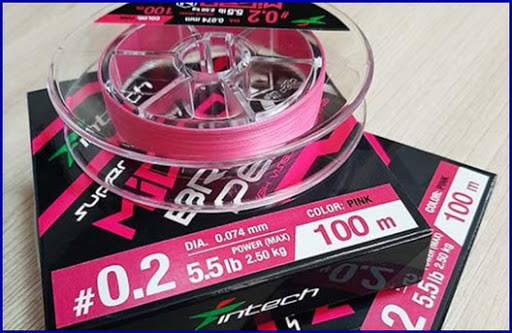 Рыболовный шнур Intech MicroN PE X4