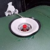 Как поменять воздушный клапан в лодке ПВХ
