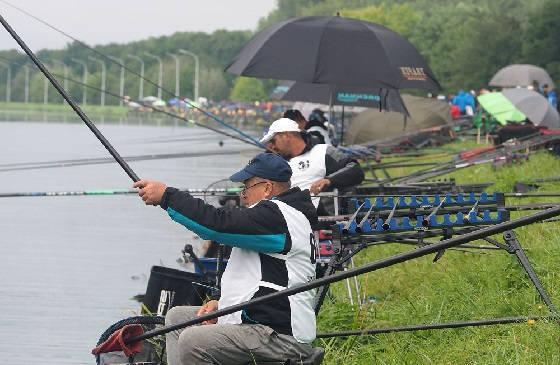 Рыбалка на поплавок на соревнованиях