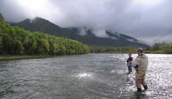 Рыбалка на Камчатке на чавычу
