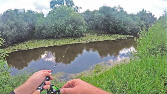 Ультралайт рыбалка летом