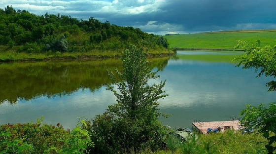 Рыбалка на карпа на озере Ульяники