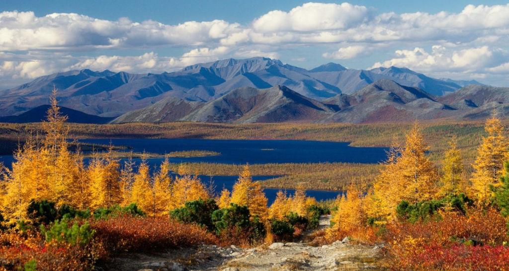 Магаданская область изобилует величественными видами