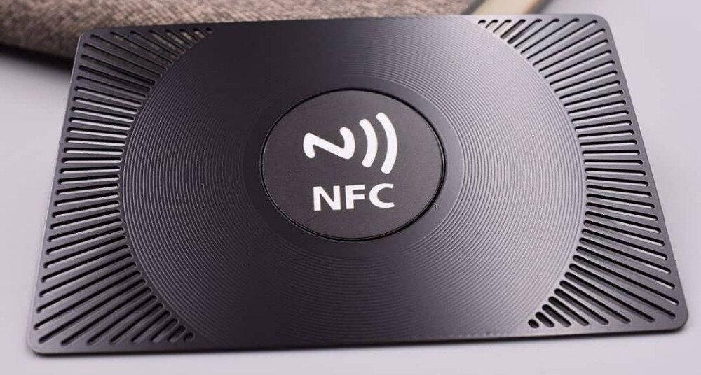 NFC визитка