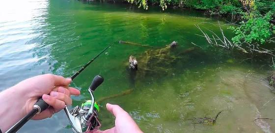 Рыбалка на реке: разведка новых мест