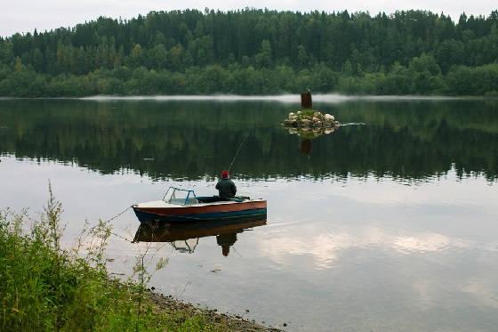 Рыбалка в Карелии с ночёвкой на озере