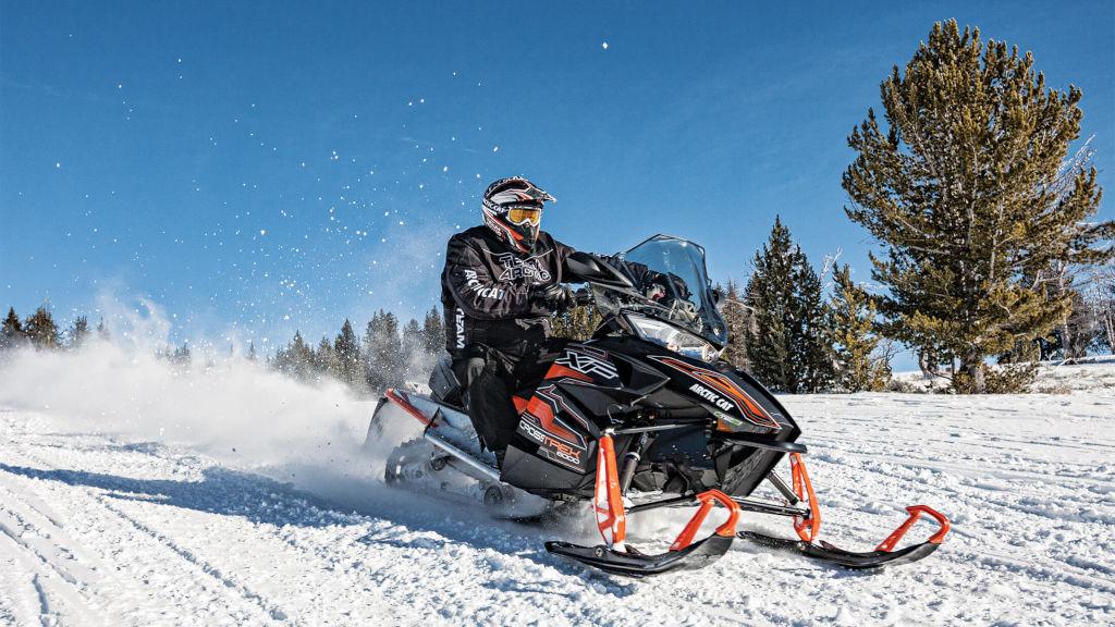 Снегоход: назначение, обучение