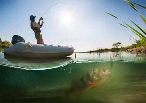 Рыбалка с лодки в новых местах