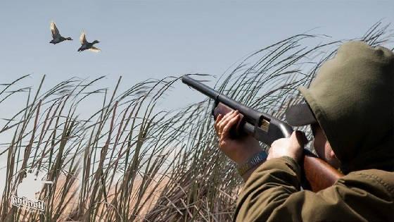 Охота на уток в Якутии