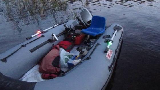 Навигационные огни на лодку