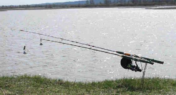 Рыбалка на удочку-донку