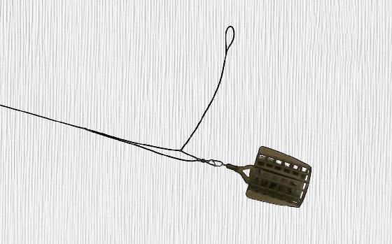 Фидерная оснастка инлайн на плетеном шнуре