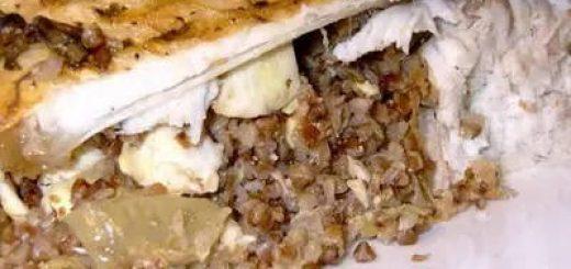 Рецепт приготовления леща с гречкой