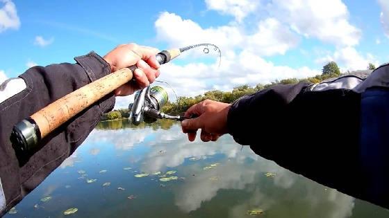 Рыбалка на Оке в разгар лета