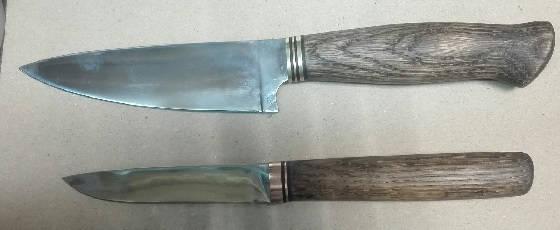 Ножи из подручных материалов