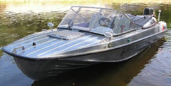 Тюнинг моторной лодки Казанка