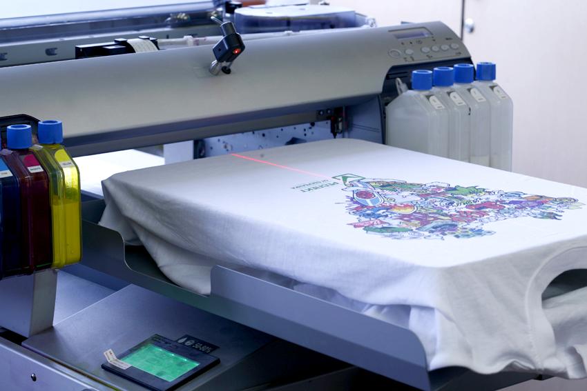 печать на тканях