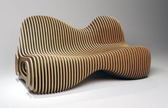 Параметрическая скамейка от Лесшоп