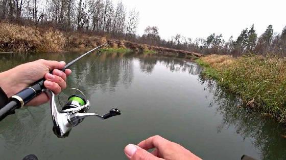 Стоянки щуки на малой реке